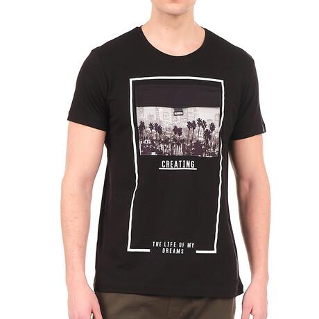 8142 T-Shirt // Black (S)
