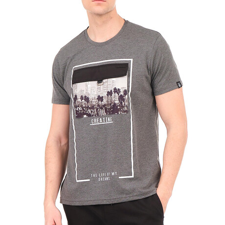 8142 T-Shirt // Anthracite (S)