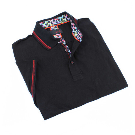 Solid Polo // Black (S)