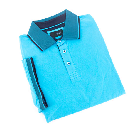 Solid Polo // Turquoise (S)