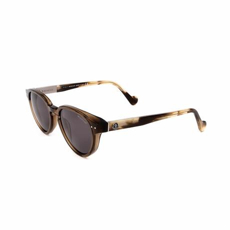 Unisex ML0012-45A Sunglasses // Shiny Light Brown