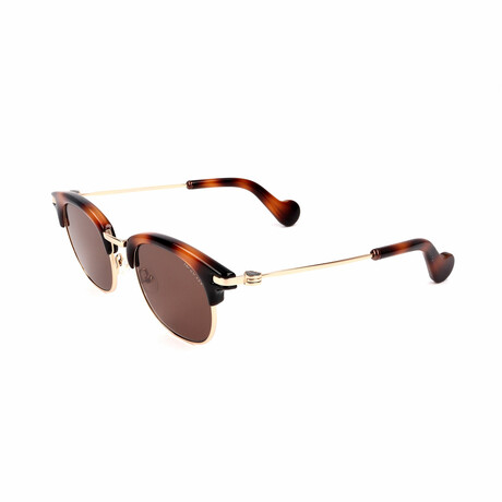 Unisex ML0036-52J Sunglasses // Dark Havana