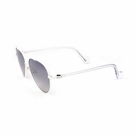Men's ML0056-21C Sunglasses // White