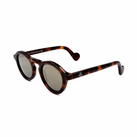 Unisex ML0042-52C Sunglasses // Dark Havana