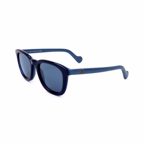 Men's ML0118-92X Sunglasses // Blue
