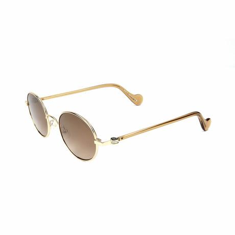 Unisex ML0057-32G Sunglasses // Gold