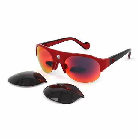 Unisex ML0050-68C Sunglasses // Red