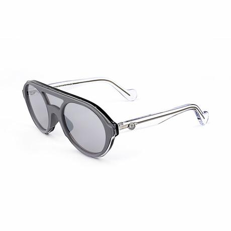 Unisex ML0052-22C Sunglasses // White + Crystal