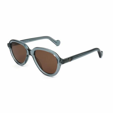 Unisex ML0043-90J Sunglasses // Shiny Blue