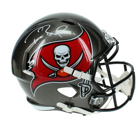 Tom Brady // Signed Tampa Bay Buccaneers Helmet