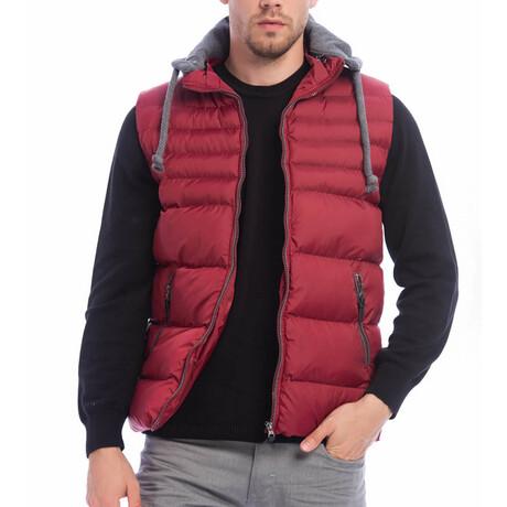 Scot Vest // Claret Red (S)