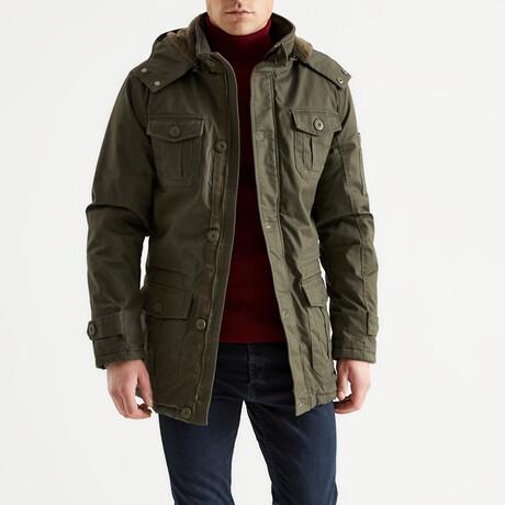 Lucas Coat // Green (S)