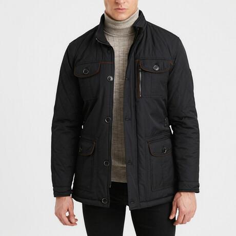 Simon Coat // Black (S)
