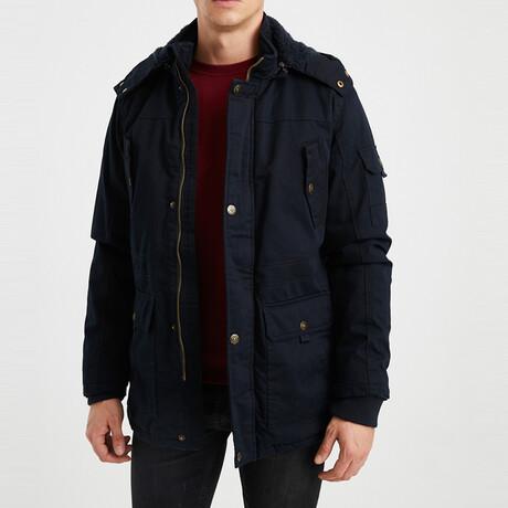Lewis Coat // Navy Blue (S)