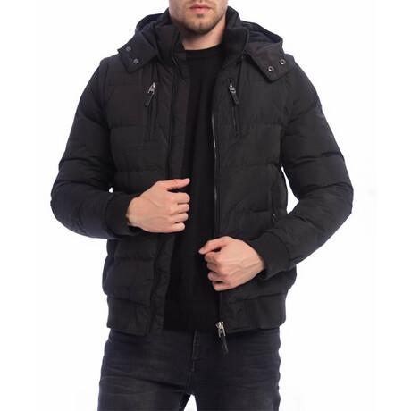 Clark Coat + Vest // Black (S)