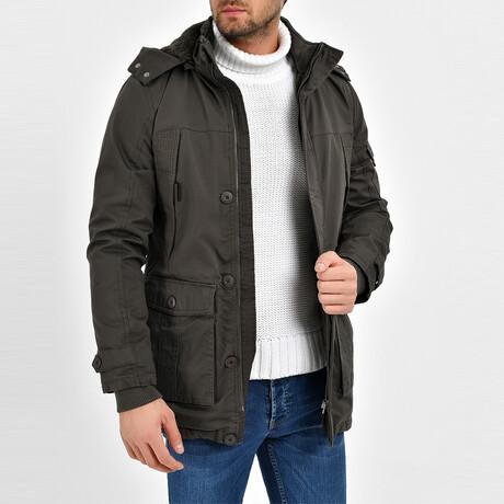 London Coat // Dark Olive (S)