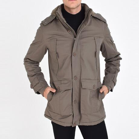London Coat // Dark Beige (S)