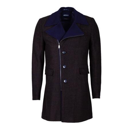 Lewis Coat // Dark Blue (S)