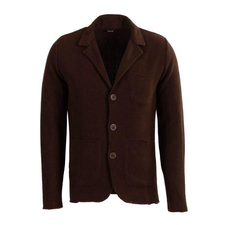 Brian Knit Coat // Brown (S)