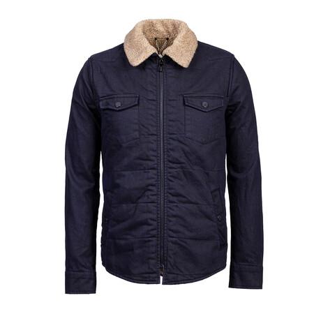 Miles Coat // Dark Blue (S)