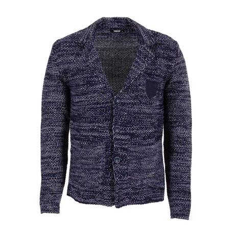 Kevin Knit Coat // Dark Blue, Blue (S)
