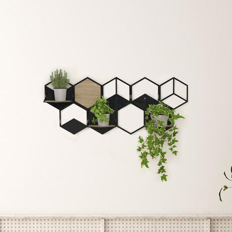 Modular Wall Planter // Large (White)