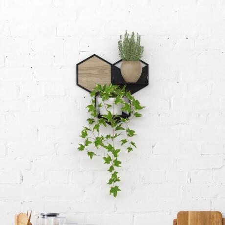Modular Wall Planter // Small // Model A (White)
