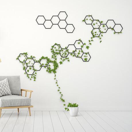 Wall Hanging // Honeycomb (White)