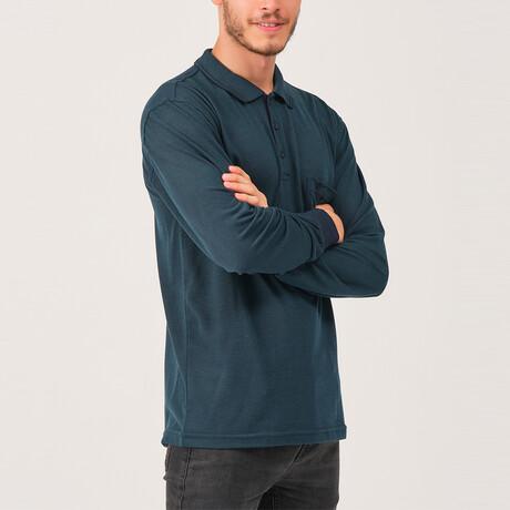 Noah Polo Sweatshirt // Green (Medium)