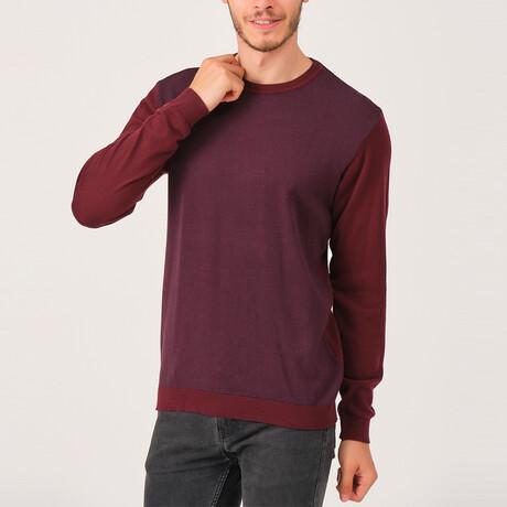 Anthony Sweater // Burgundy (Medium)