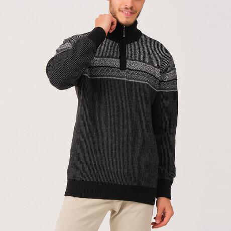 Cameron Sweater // Black (Medium)
