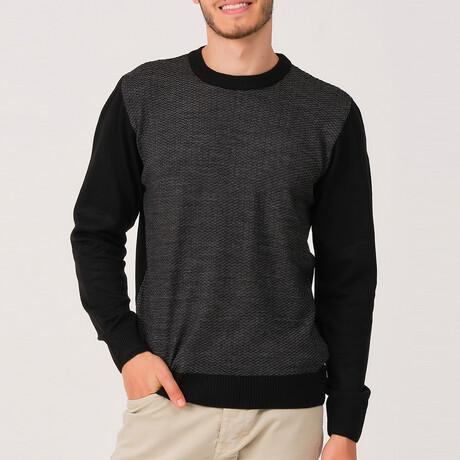 Carter Sweater // Black (Medium)