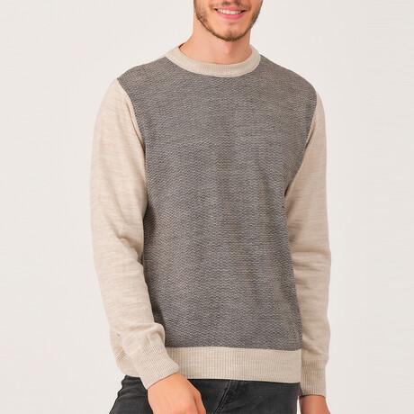Carter Sweater // Beige (Medium)
