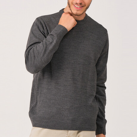 Asher Sweater // Smoke (Medium)