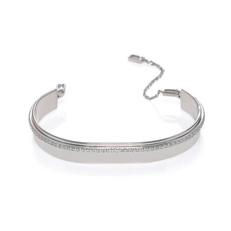"""Messika 18k White Gold Kate Diamond Bracelet // 6"""" // Store Display"""