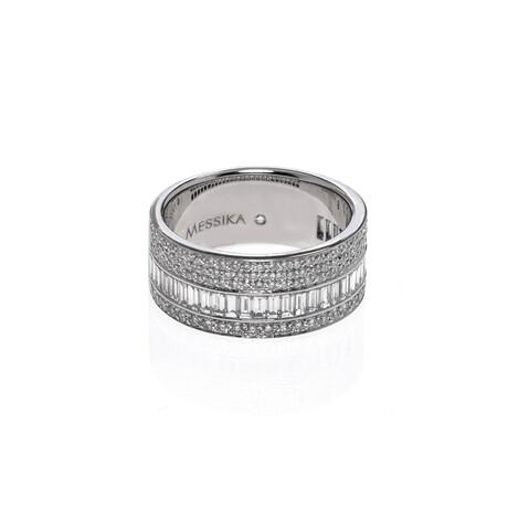 Messika 18k White Gold Liz Diamond Ring // Ring Size: 7.25 // Store Display