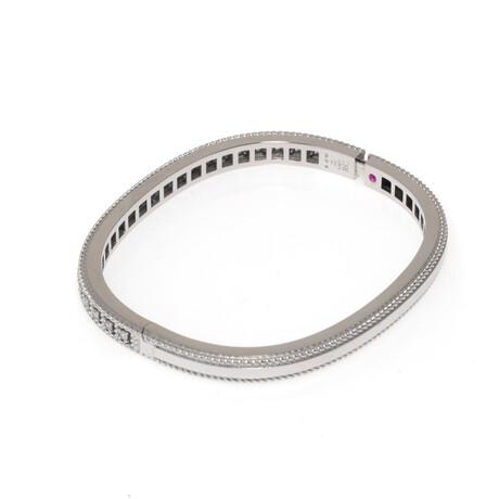 """Roberto Coin 18k Gold Barocco Diamond Bracelet // 6.5"""" // Store Display (18k White Gold)"""