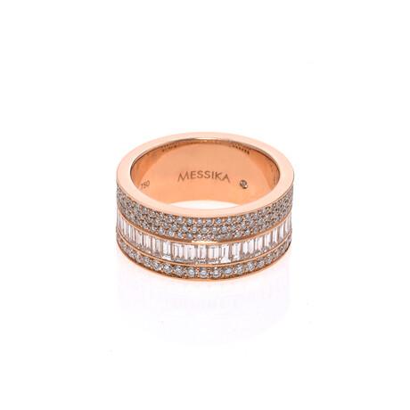 Messika 18k Rose Gold Liz Diamond Ring // Ring Size: 6.5 // Store Display