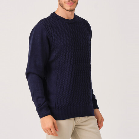 David Sweater // Dark Blue (Medium)