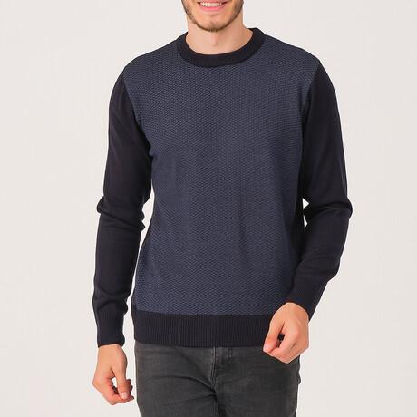 Carter Sweater // Dark Blue (Medium)