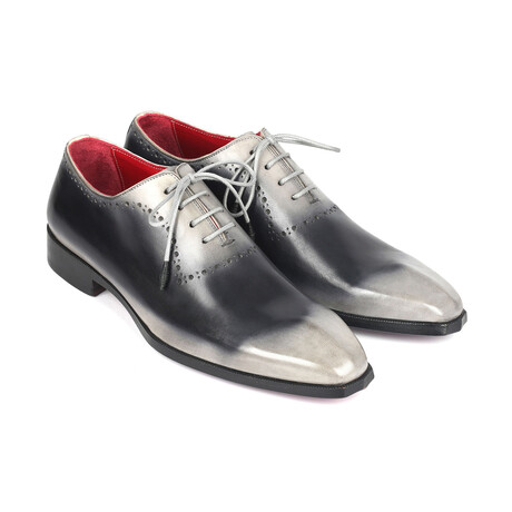 Hand-Painted Oxfords // Gray (US: 7)