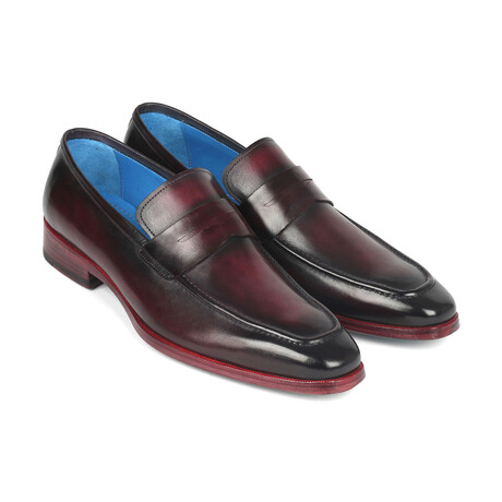 Burnished Penny Loafers // Purple (US: 7)