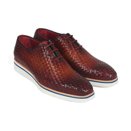 Woven Smart Casual Shoes // Brown (US: 7)
