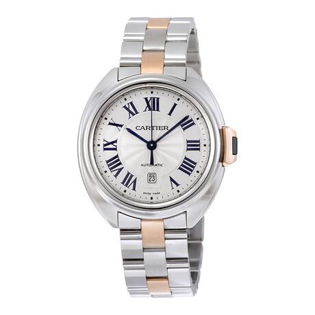 Cartier Ladies Clé De Cartier Automatic // W2CL0004 // Pre-Owned