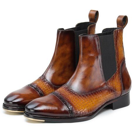 Chelsea Boot // Croc Tan (US: 8)