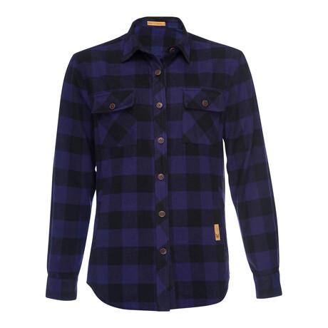 CPO Jacket Plaid // Purple (XS)