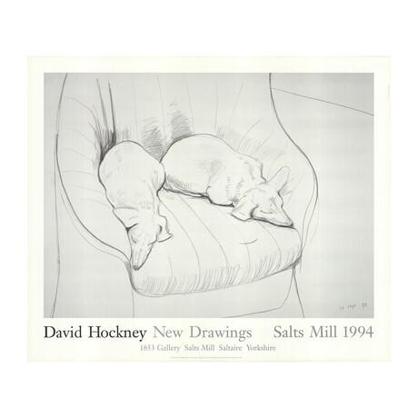 David Hockney // // Stanley & Boodge // 1993 Offset