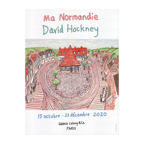 David Hockney // // Ma Normandie // 2020 Offset