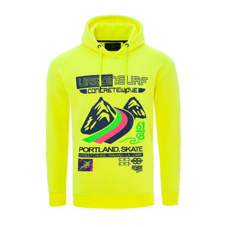 Urban Surf Sweatshirt // Yellow (S)
