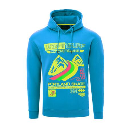 Urban Surf Sweatshirt // Blue (S)